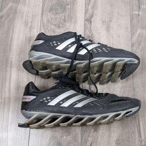 Adidas Springblade black Silver shoes Size 6